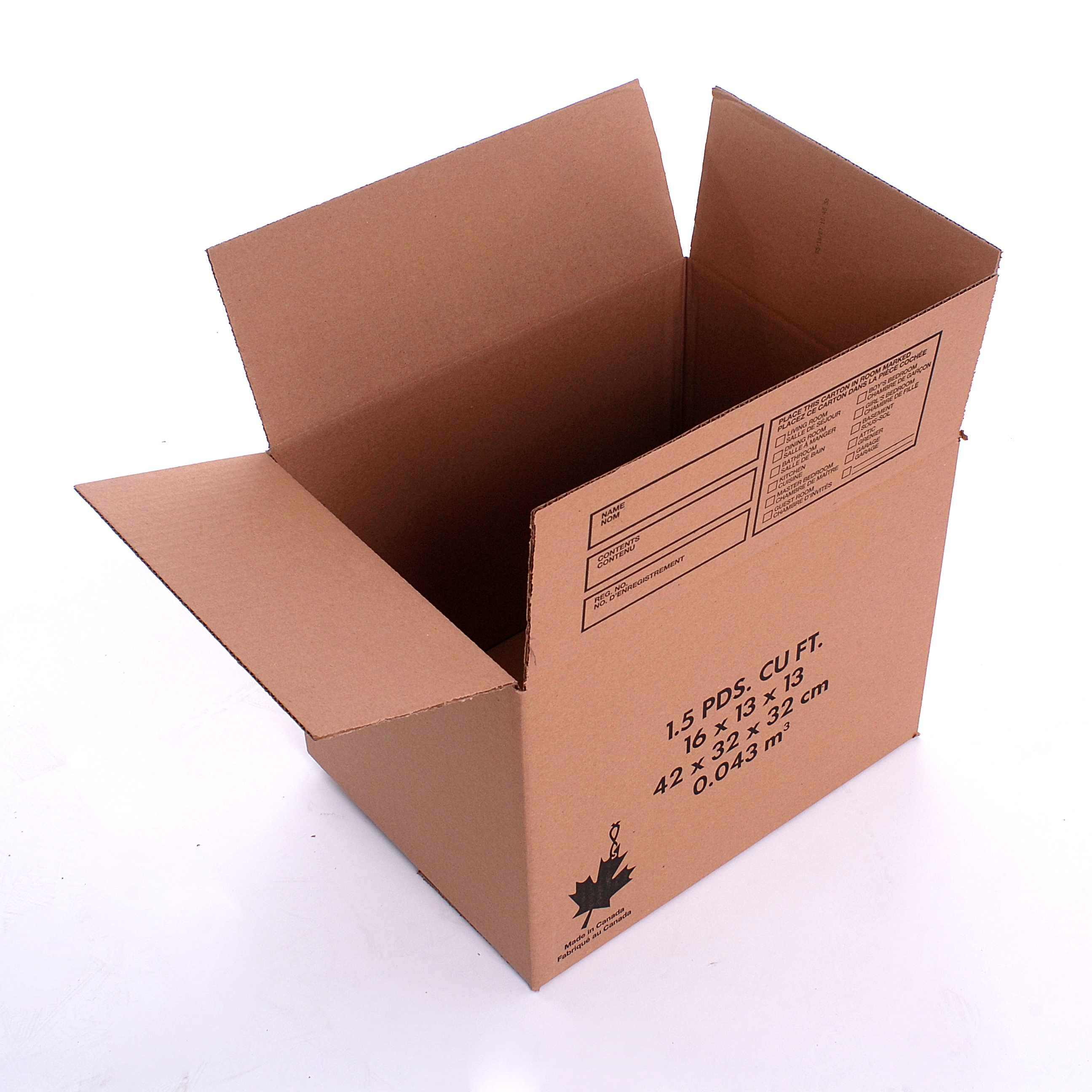 1 Cubic Foot Box